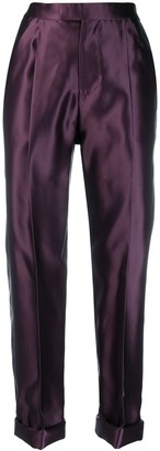 Tom Ford Rolled Hem Tailored Trousers