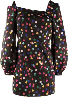 Racil Polka-Dot Mini Dress