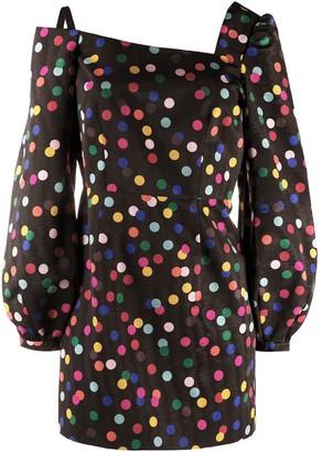 Racil polka-dot mini dress