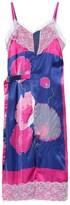 Junya Watanabe Floral linen-blend midi dress