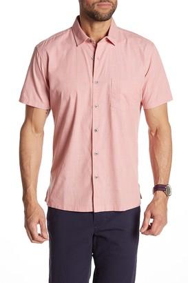 Tori Richard Woven Short Sleeve Standard Fit Shirt