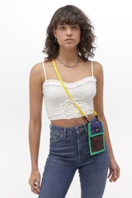 Lazy Oaf Colourblock Mini Pouch Crossbody - Assorted ALL at Urban Outfitters