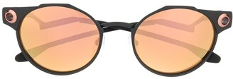 Oakley Deadbolt round tinted sunglasses