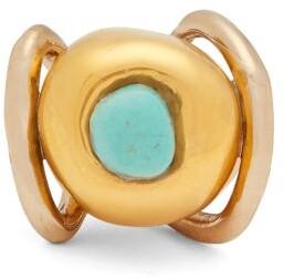 Sonia Boyajian - Santa Fe Turquoise Ring - Womens - Blue