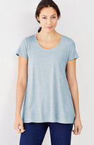 J. Jill Pure Jill Scoop-Neck Elliptical Tee