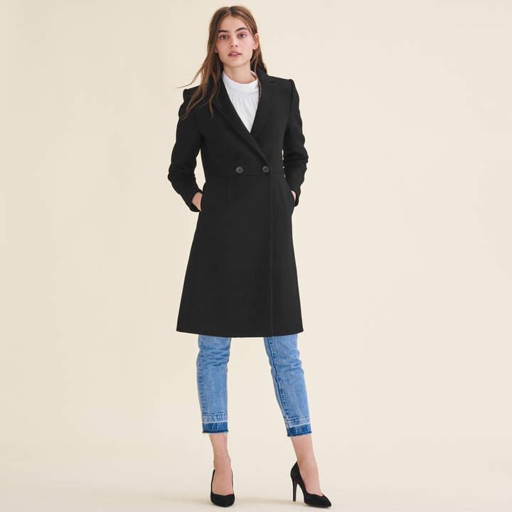 Maje Mid-length wool frock coat