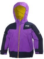 Helly Hansen Toddler Girl's K Velocity Waterproof Primaloft Black Insulated Jacket