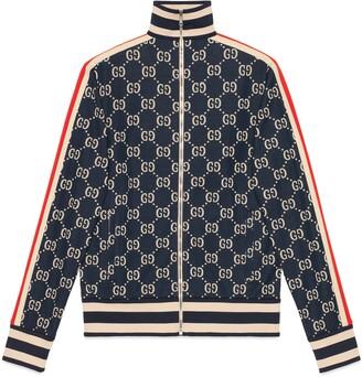 Gucci GG jacquard cotton jacket