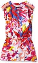 Catimini Girl's Printed Dress - White -