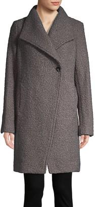T Tahari Asymmetric Topper Coat
