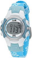 Timex Women's Ironman T5G891 Blue Cloth Quartz Watch with Dial