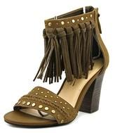 Sbicca Palooza Open-toe Leather Heels.