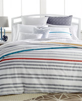Bar III Pop Stripe King Comforter