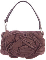Saint Laurent Ruffle Shoulder Bag