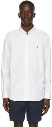 Polo Ralph Lauren White Oxford Sport Shirt