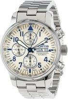 Fortis Men's 701.20.92 M F-43 Flieger Chronograph Dial Automatic Chronograph Date Stainless-Steel Watch