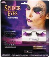 Fun World Costumes Spider Eye Lashes Makeup Kit