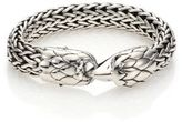 John Hardy Legends Black Chalcedony & Sterling Silver Eagle Bracelet