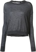 Helmut Lang cashmere crew neck sweater