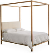 One Kings Lane Collection Idra Canopy Bed, Gold/Ivory