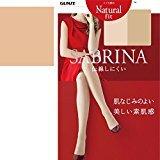Sabrina Gunze Natural Fit Stocking Size L - LL - 40A Pearl Beige