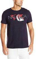 Nautica Men's World Map Graphic T-Shirt
