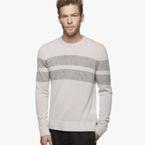 James Perse Cashmere Double Stripe Sweater