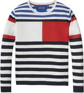 Tommy Hilfiger TH Kids Sparkle Stripe Sweater