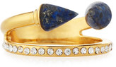Vita Fede Ultra Mini Titan Lapis & Crystal Ring, Gold