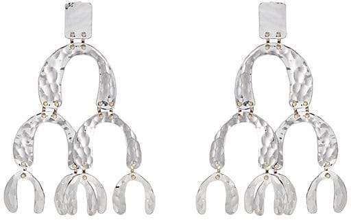 Proenza Schouler Women's Oversized Tiered-Drop Earrings