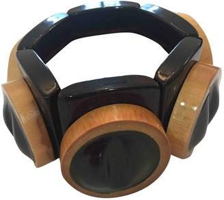 Marni Black Wood Bracelets