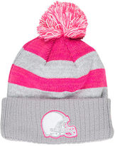 New Era Women's Cleveland Browns NFL 2016 Breast Cancer Awareness Sport Knit Hat