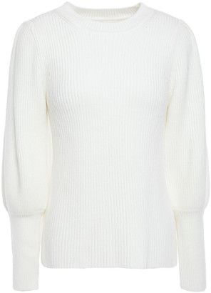 BA&SH Zilo Ribbed Wool-blend Sweater