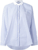 Brunello Cucinelli striped shirt - women - Cotton/Spandex/Elastane - S