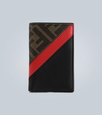 Fendi Folded leather wallet
