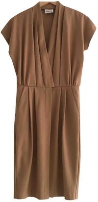 Ganni Brown Polyester Dresses
