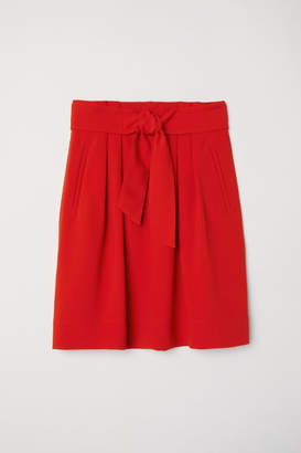 H&M Skirt with a tie belt