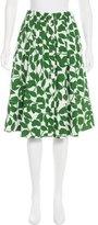 Kate Spade Printed Knee-Length Skirt
