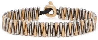 M. Cohen Shimu Diamond, Silver & 18kt Gold Bracelet - Gold Multi