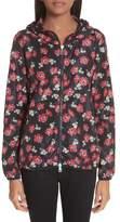 Moncler Vivre Floral Print Raincoat