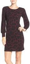 Leota 'Kate' Static Print Jersey Shift Dress