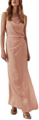 Reiss Ostia Maxi Strappy Back Maxi Dress