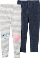 Carter's Jersey Leggings - Preschool Girls