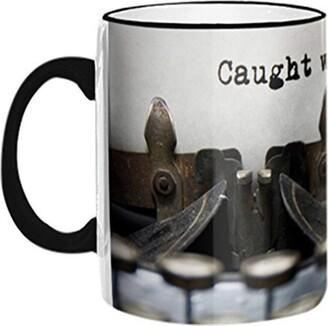 "Retrospect Group CAUGHT WITH PANTS DOWN"" Ceramic Mug"