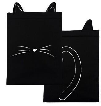 Indigo Paper The Book Bestie - Black Cat Book Sleeve