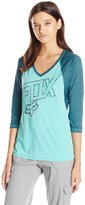 Fox Juniors Daunting Burnout Raglan Graphic Tee