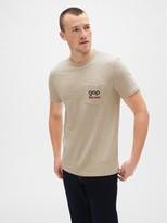 Gap ';70s Logo Pocket T-Shirt