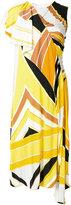 Emilio Pucci embroidered shift dress - women - Silk/Spandex/Elastane/Rayon - 40