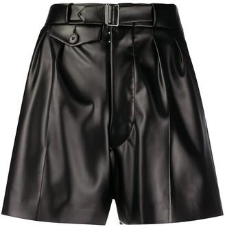 Maison Margiela High-Waisted Belted Shorts
