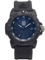 Luminox 'Sea - Navy SEAL Colormark' Silicone Strap Watch, 38mm